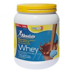 Longlife Absolute whey gusto cacao 500g