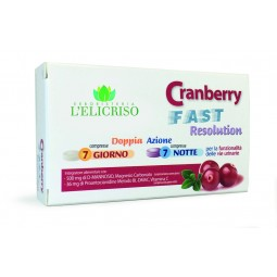 Cranberry fast resolution 7 compresse giorno + notte
