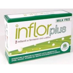 Inflor Plus 20Cps 400Mg