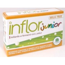 Inflor Junior 20Cps 400Mg